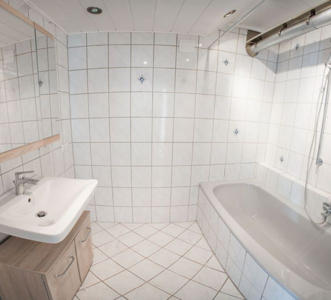 Badezimmer nach der Renovation