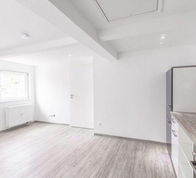 Wohnzimmer nach der Renovation